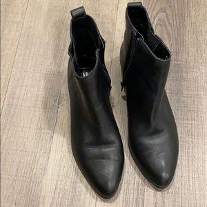 Gap black booties
